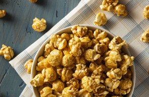 pop corn al caramello olio di semi di mais Piave