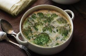 Broccoli gratinati olio extravergine di oliva Piave